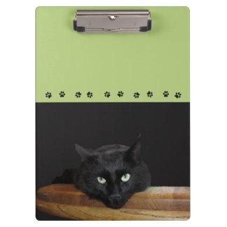 Ranger Black Cat Clipboard Green