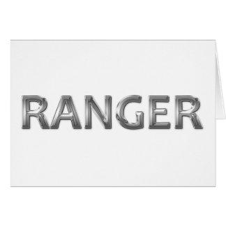 Ranger chrome greeting cards