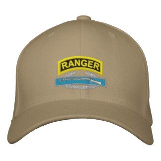 Ranger CIB Embroidered Baseball Cap