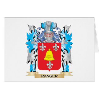Ranger Coat of Arms - Family Crest Card