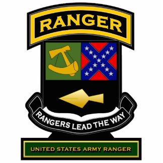 Ranger crest and tab 2 statuette