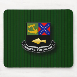 Ranger crest - early mouse pad
