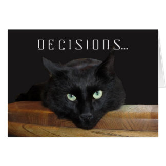 "Ranger ""Decisions"" Greeting Card"