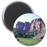 Ranger Horse Corral - Capitol Reef National Park Fridge Magnets