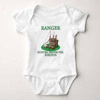 Ranger: Hunter, Protector, Survivor Baby Bodysuit