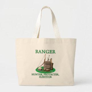 Ranger: Hunter, Protector, Survivor Canvas Bags