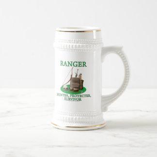 Ranger: Hunter, Protector, Survivor Beer Stein