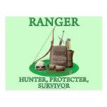 Ranger: Hunter, Protector, Survivor Postcard