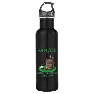 Ranger: Hunter, Protector, Survivor Stainless Steel Water Bottle
