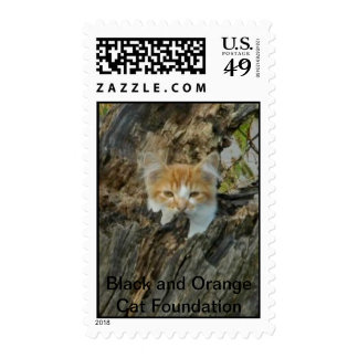 Ranger in a tree. postage stamps