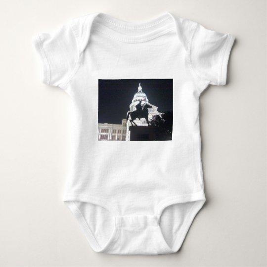 Ranger in front of TX Capitol.jpg Baby Bodysuit