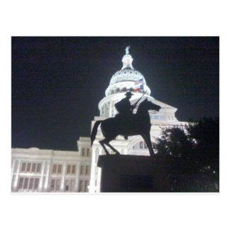 Ranger in front of TX Capitol.jpg Postcard