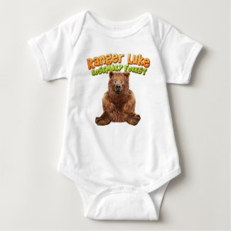 Ranger Luke: Rosemary Forest - Bear Bodysuit