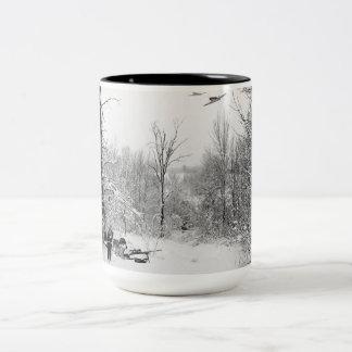 Ranger Mission Ruff Ruff Two-Tone Coffee Mug