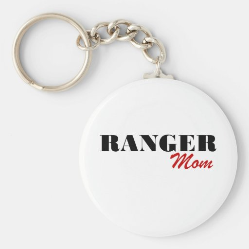 Ranger Mom Key Chains