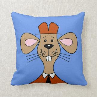 Ranger Mouse Throw Pillow