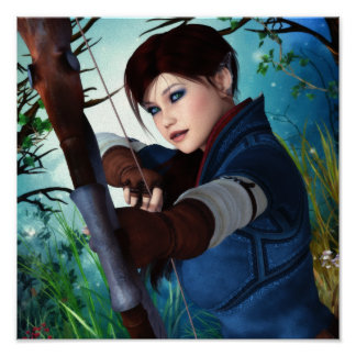 Ranger of the Woodlands Canvas/Poster Print