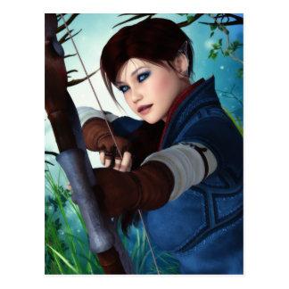 Ranger of the Woodlands Postcard