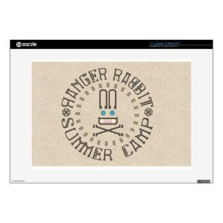 Ranger Rabbit Summer Camp Decal For Laptop