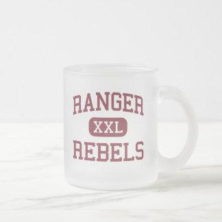 Ranger - Rebels - Elementary - Murphy Frosted Glass Coffee Mug