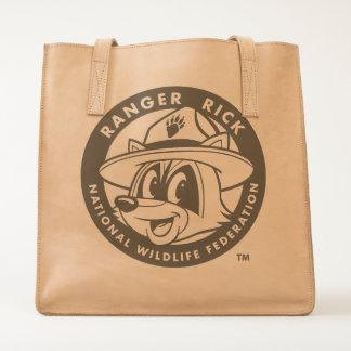 Ranger Rick Logo Leather Tote