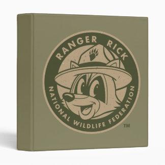 Ranger Rick | Ranger Rick Khaki Logo 3 Ring Binder