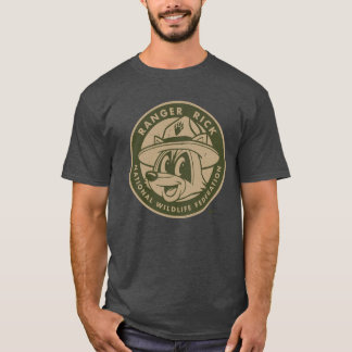 Ranger Rick | Ranger Rick Khaki Logo T-Shirt