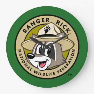 Ranger Rick | Ranger Rick Logo Large Clock