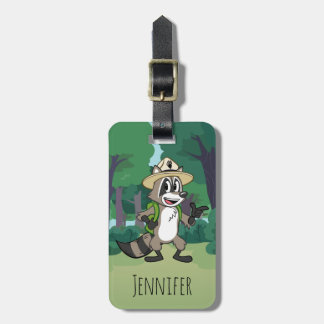 Ranger Rick | Ranger Rick Pointing Bag Tag