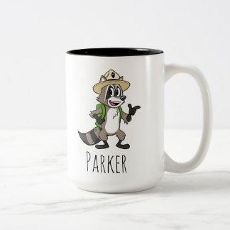 Ranger Rick | Ranger Rick Pointing Two-Tone Coffee Mug