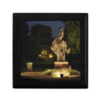 Ranger Statue at Night merchandise Keepsake Box
