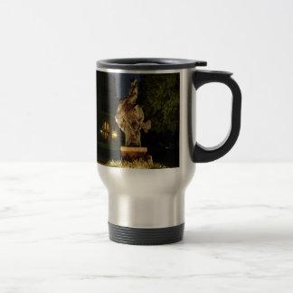 Ranger Statue at Night merchandise Travel Mug