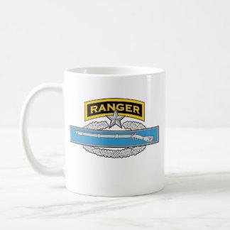 Ranger tab - 2d award Combat Infantryman's Badge Coffee Mug