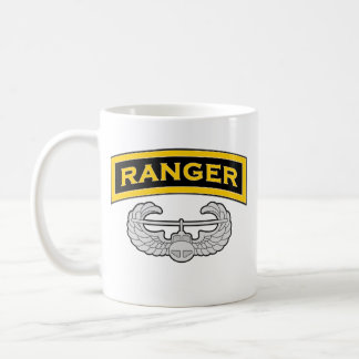 Ranger tab - Air Assault badge Coffee Mug