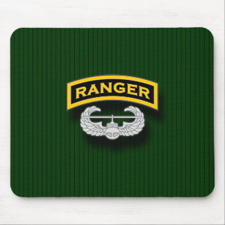 Ranger tab and Air Assault badge Mouse Pad