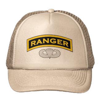 Ranger - Tab and Jump Wings Mesh Hat