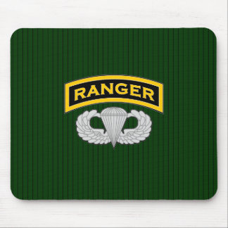Ranger tab and Jump Wings Mouse Pad