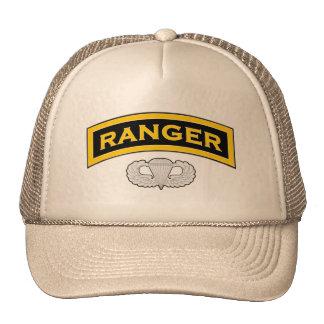 Ranger - Tab and Jump Wings Trucker Hat