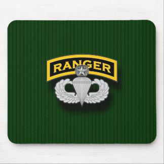 Ranger tab and Master Parachutist badge Mouse Pad