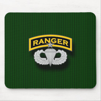Ranger tab and Senior Parachutist badge Mouse Pad