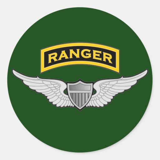Ranger tab & Aviator wings Stickers