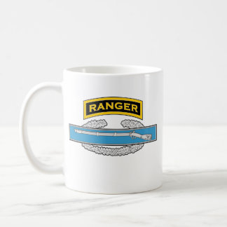Ranger tab - Combat Infantryman's Badge Coffee Mug
