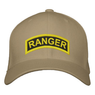 Ranger tab embroidered hats