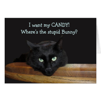 Ranger The Stupid Bunny Happy Easter Card