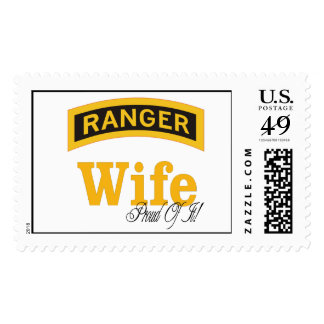 ranger wife and proud of it postage