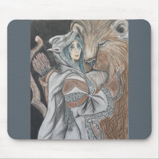 Ranger with pet mouse pad