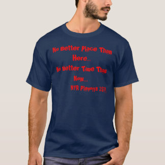 Rangers 2011 Blue T-Shirt