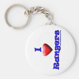 rangers love DTB keychain