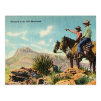 Rangers of the Ole Southwest Postcard