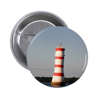 Rangitoto Lighthouse Buttons